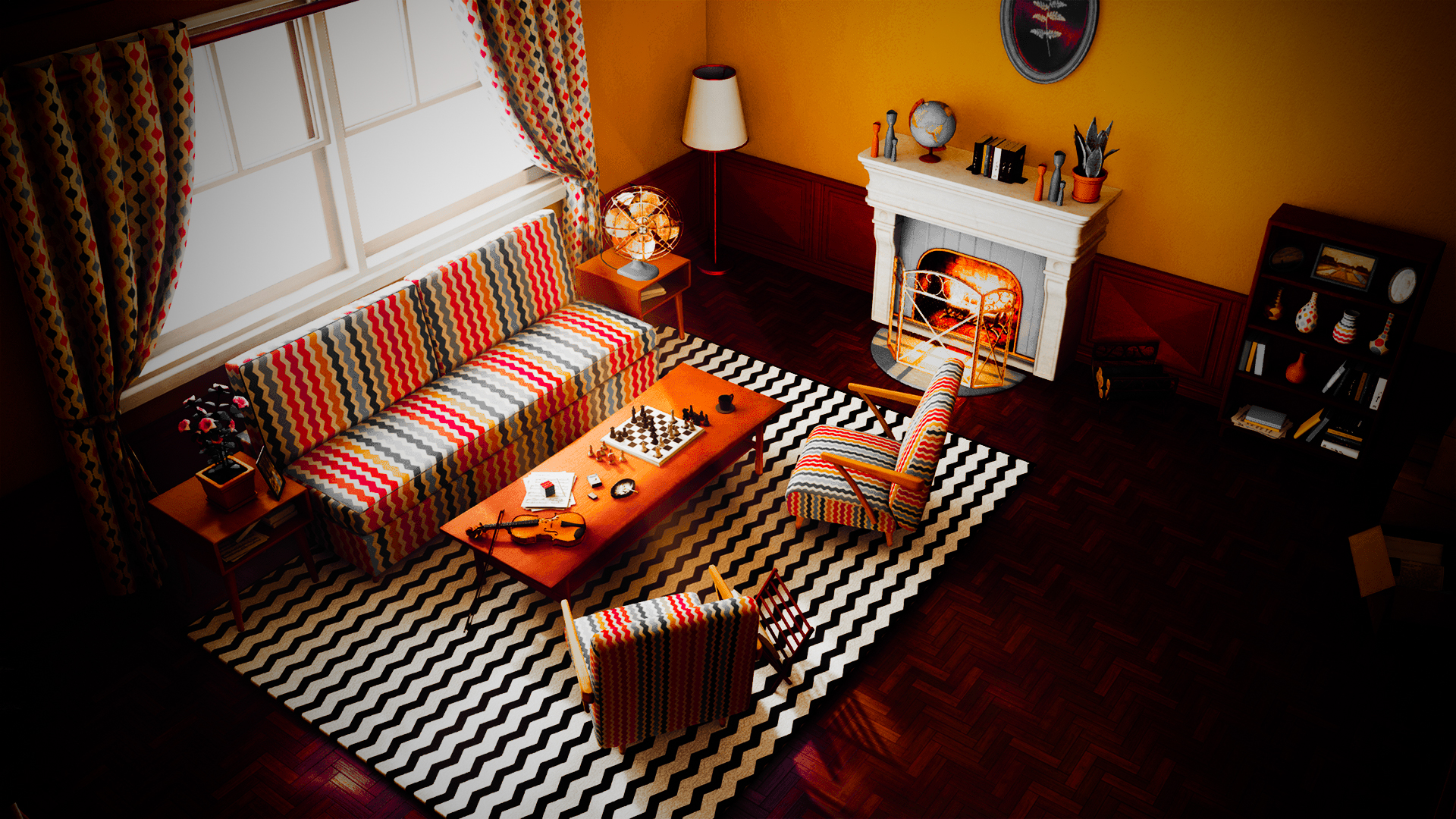 Retro Decor Ideas to Try at Your Home | Southern Pride Painting llc