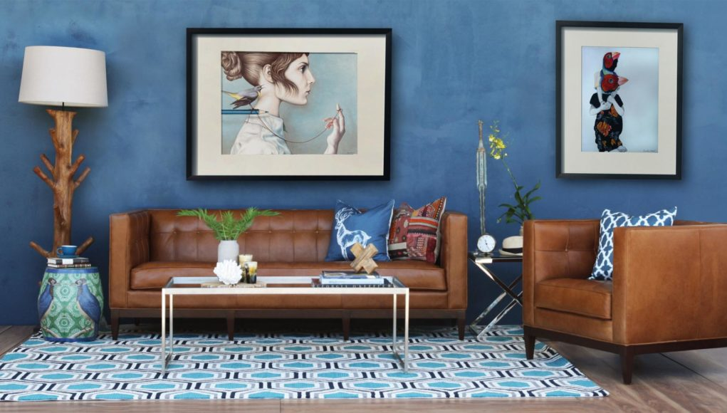 Blue Living Room Decor Ideas