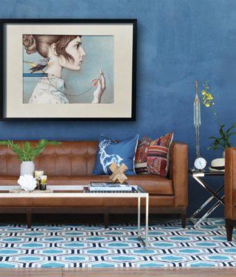 Blue Living Room Decor Ideas